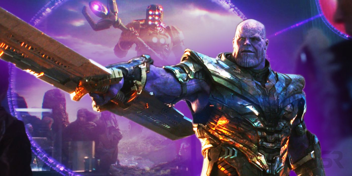 Endgame Theory: Thanos' Overpowered Sword Was Created By The Celestials