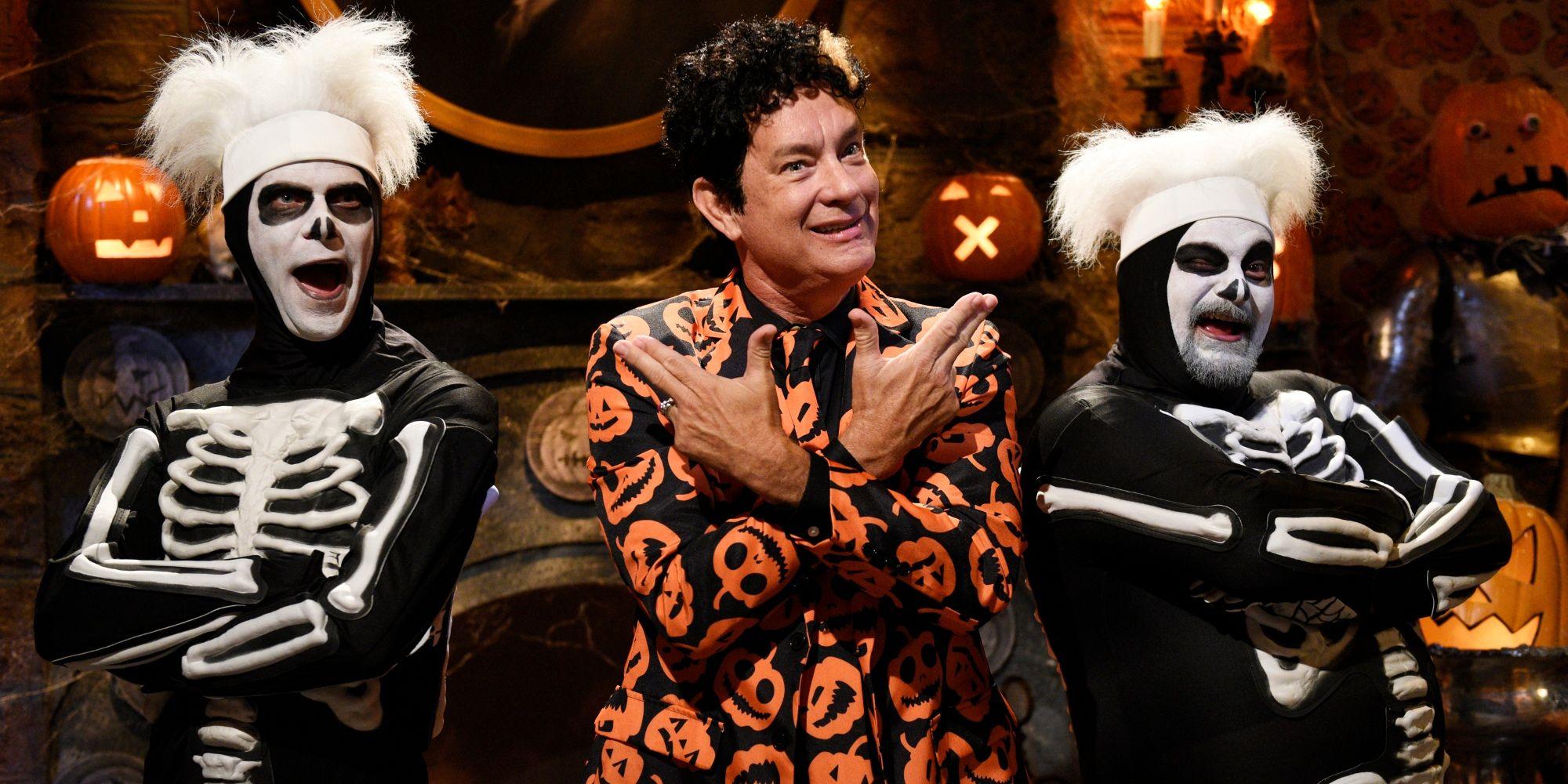 Saturday Night Live David S Pumpkins Adult Costume Wig One Size