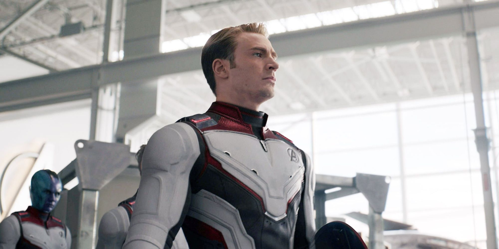 Captain America Didn't See '70s Peggy In Early Endgame Draft