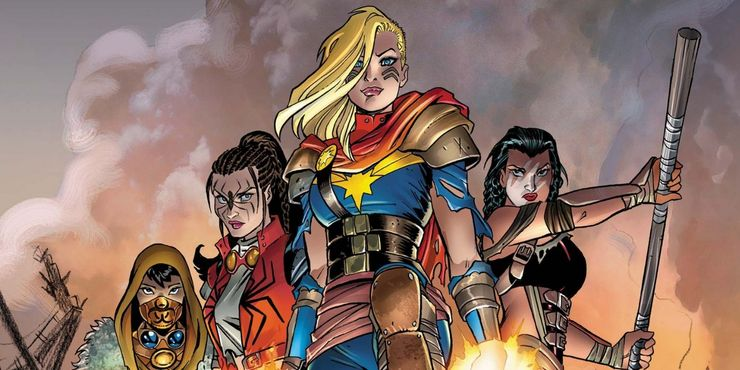 The 10 Best Captain Marvel Costumes Ranked Screenrant Jumpsuit officially licensed marvel product. the 10 best captain marvel costumes