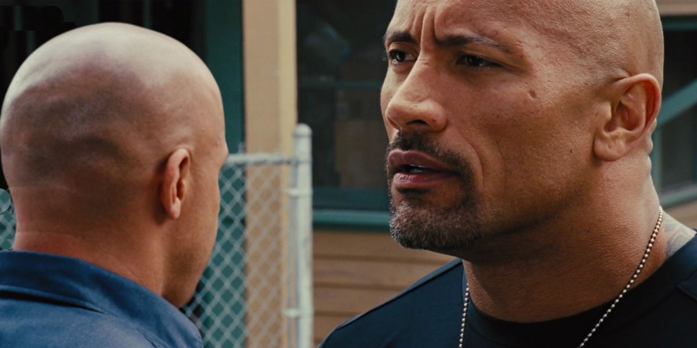 Fast Amp Furious Hilariously Bad Vin Diesel The Rock Scene