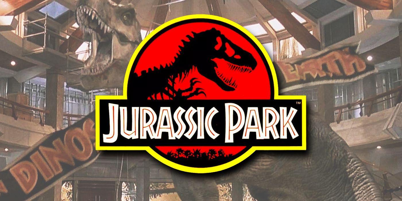 Jurassic Park Logo Origin & History Explained | Screen Rant