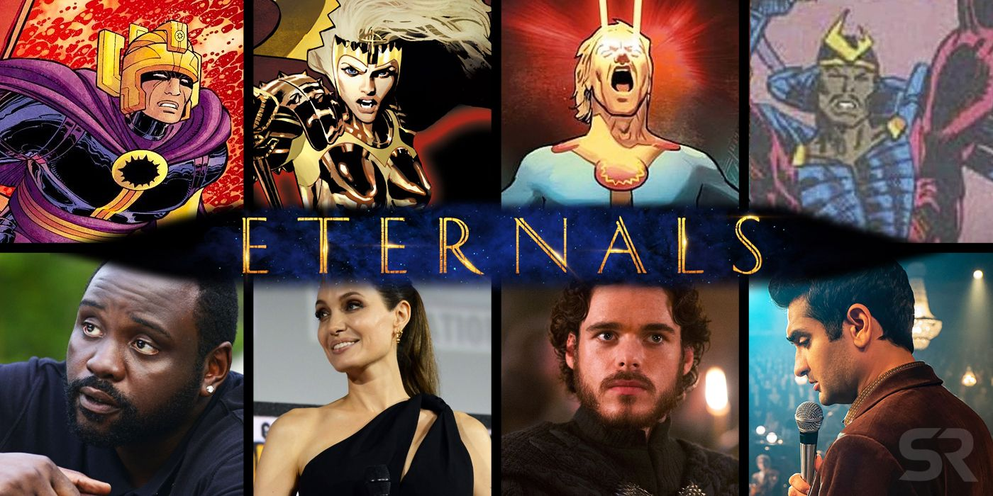 Marvel's Eternals Movie Cast & Character Guide | Screen Rant