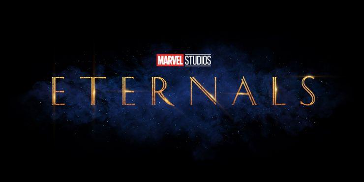 Marvel Eternals official movie logo