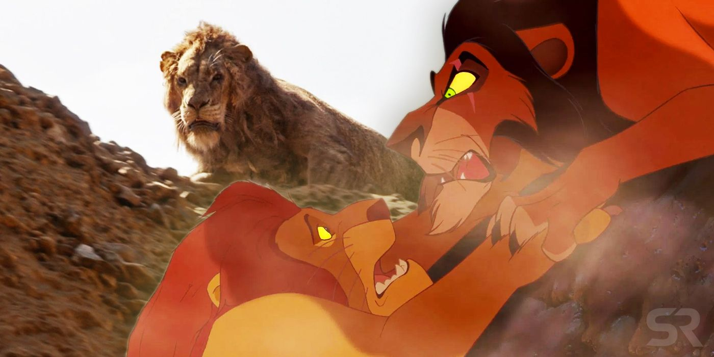 The Lion King 2019 Changes Mufasa S Death Here S How It S