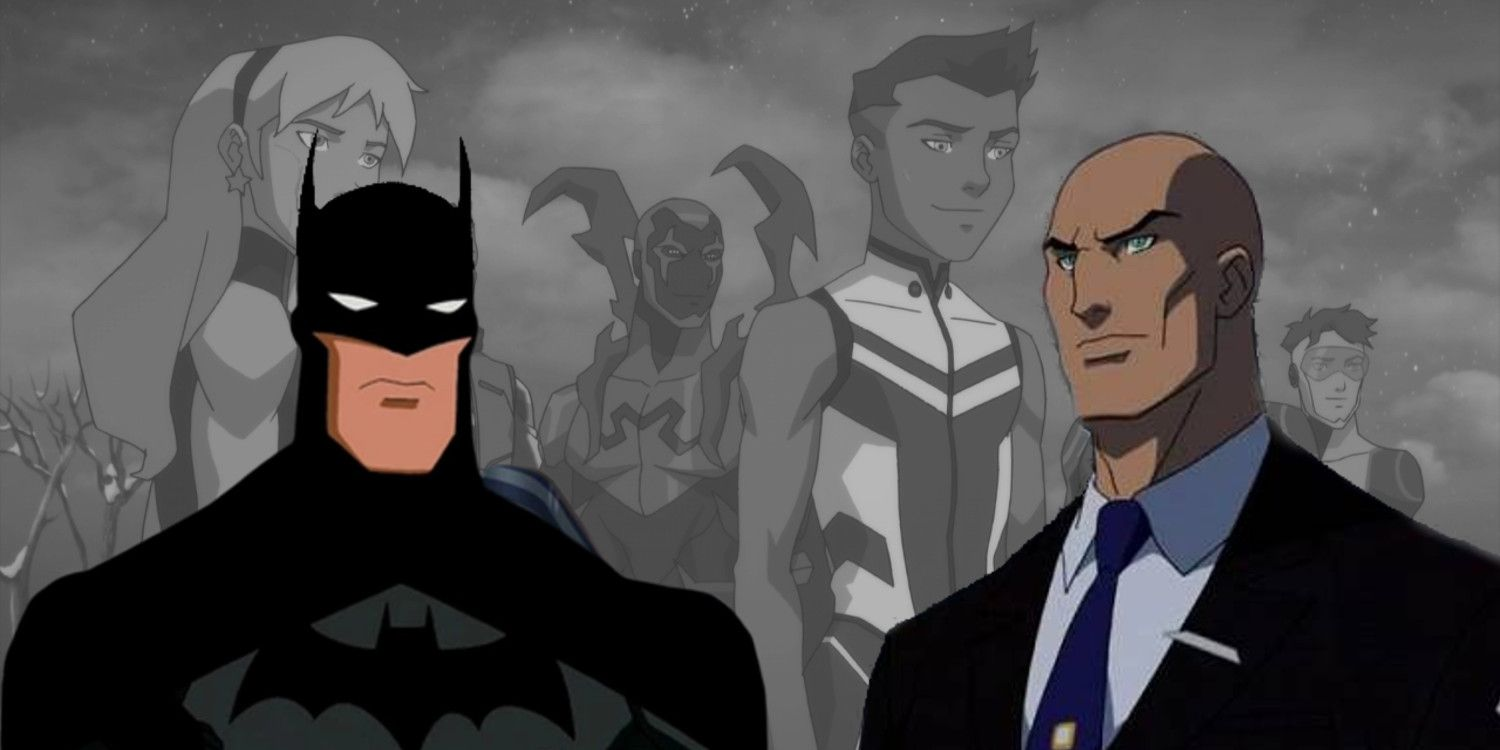 Young Justice: The Outsiders Have Become Batman and Lex