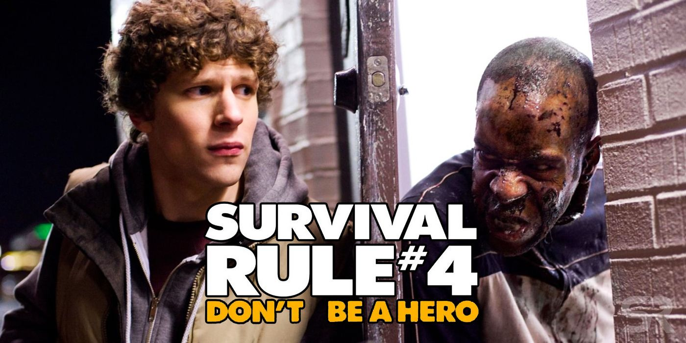 Zombieland All 33 Of Columbus Survival Rules Screenrant