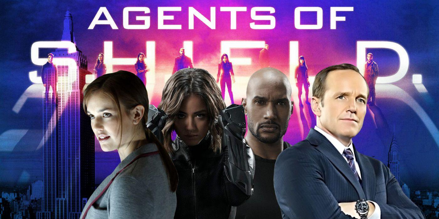 Marvel Agents Of Shield Burning Series
