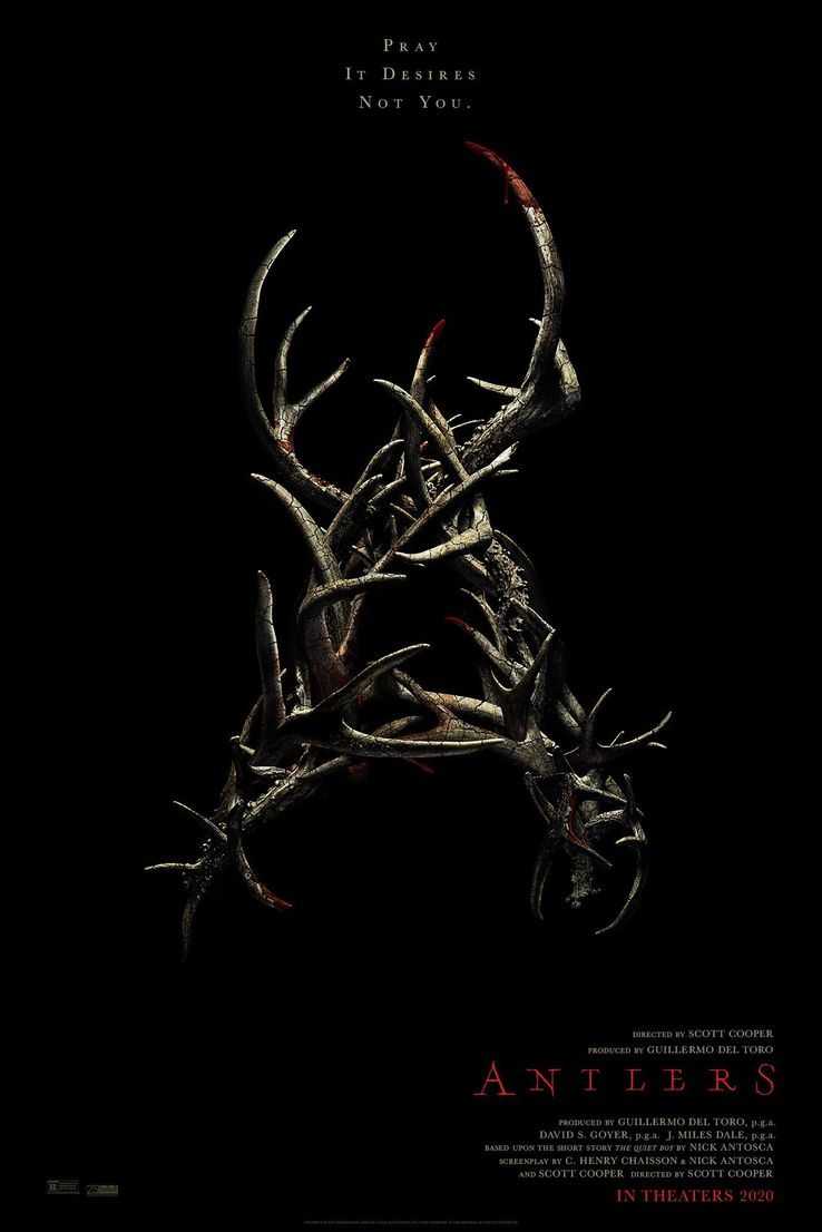 Image result for Antlers movie poster