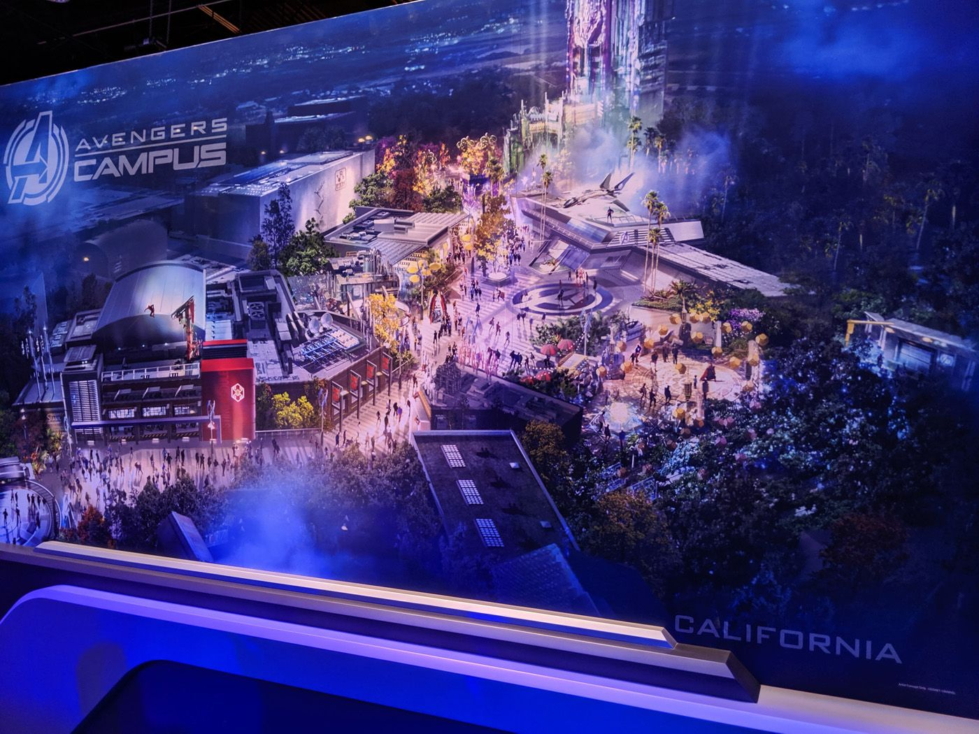 TV and Movie News Disney Parks Marvel Land is Called