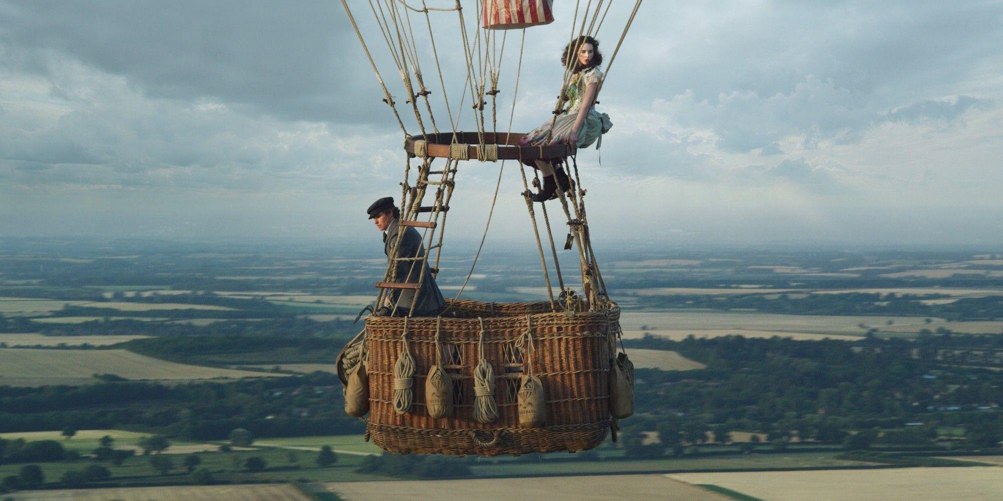 Aeronauts Film Trailer: Redmayne & Jones Are In a Hot Air Balloon