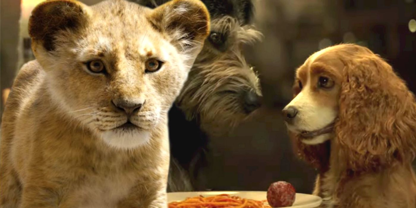Disney Fixes Lion King S Mistakes With Lady The Tramp Remake