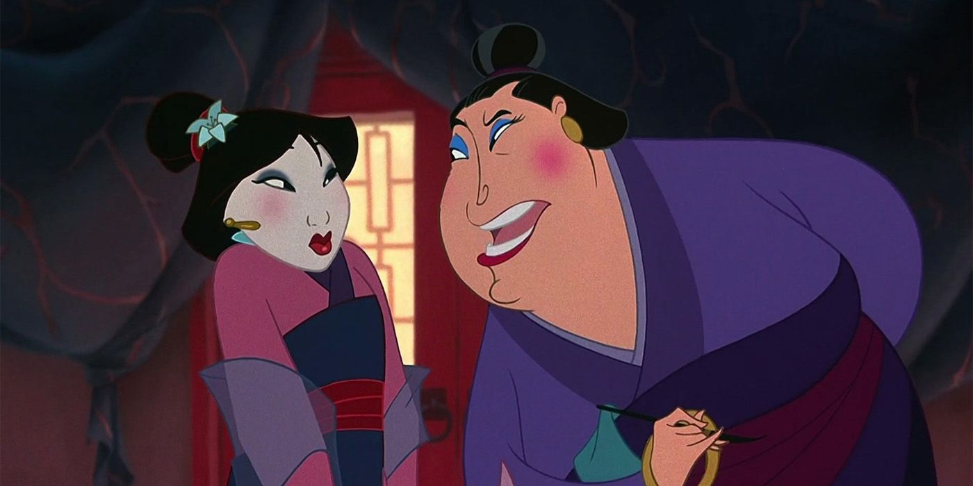 Disney S Live Action Mulan D23 Footage Recreates Matchmaker Sequence
