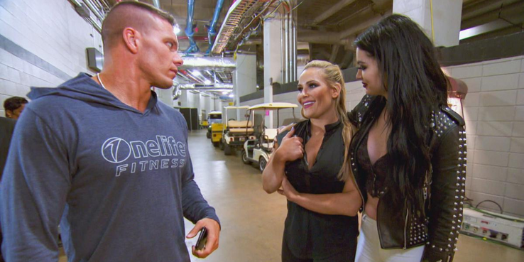 Maryse accidentally sends a nude selfie to bunch of WWE