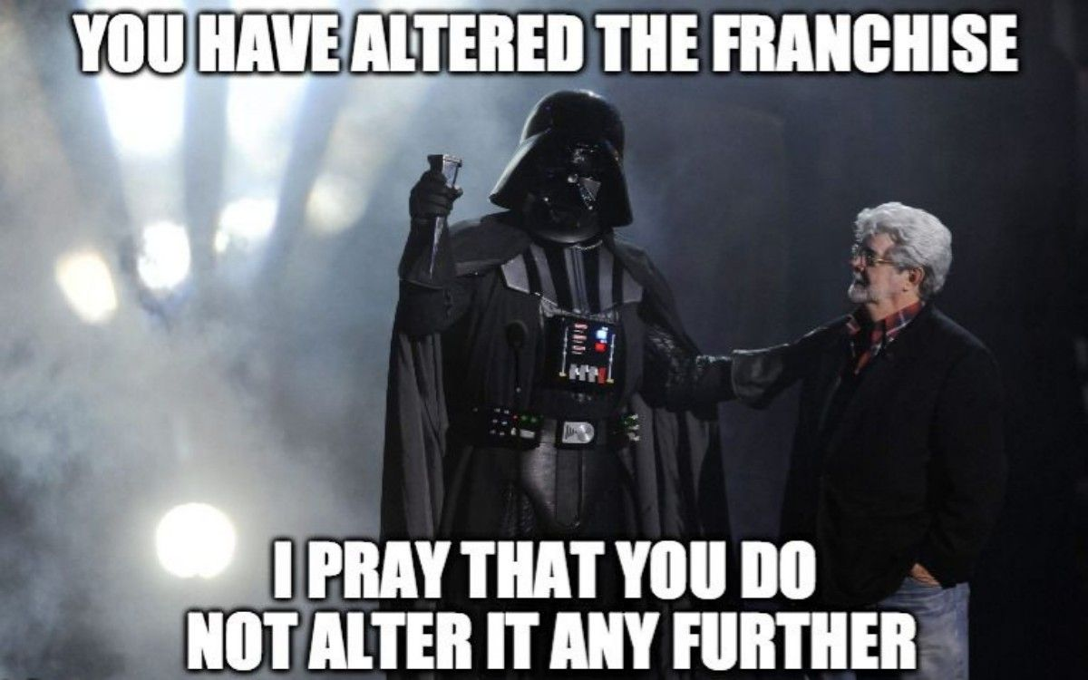 Tv And Movie News Star Wars 10 Hysterical Darth Vader Memes That