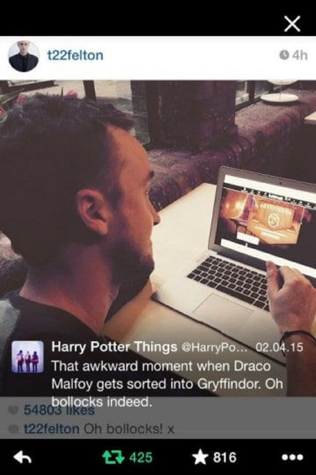 TV and Movie News Harry Potter: 10 Hilarious Gryffindor