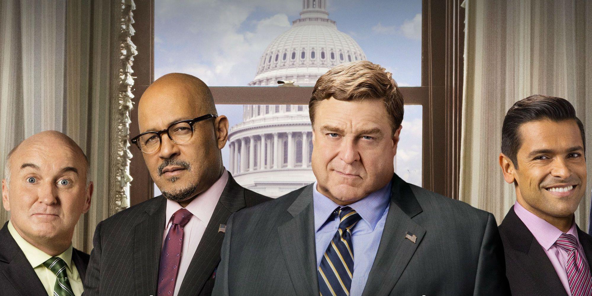 Alpha House 2014 Full Movie why amazon canceled alpha house before season 3   screen rant