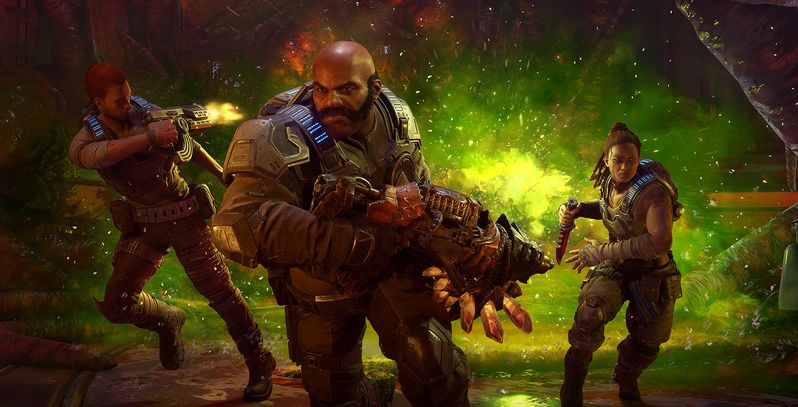 Gears 5 Launch Botched By Server & Xbox Live Issues | Screen