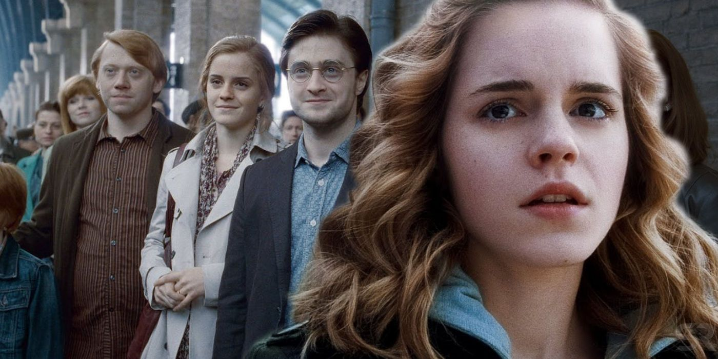 Marry hermione ron did why Why did