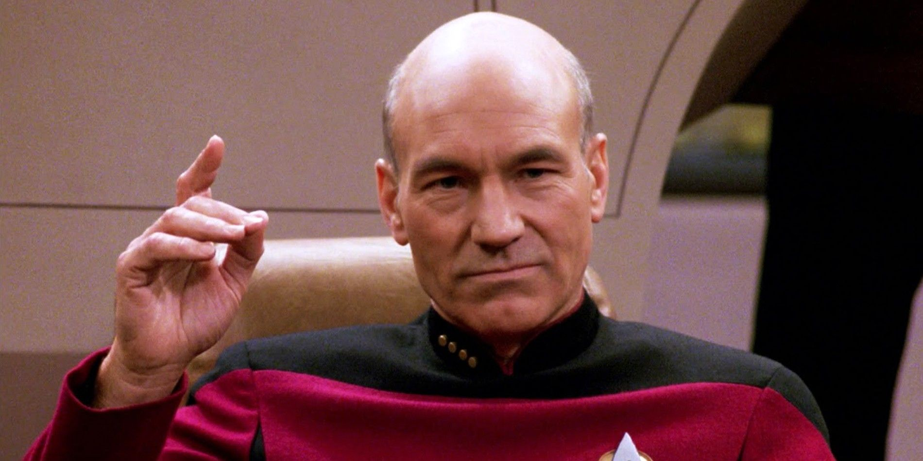 "Picard Isn't The First Star Trek Captain To Say ""Engage"""
