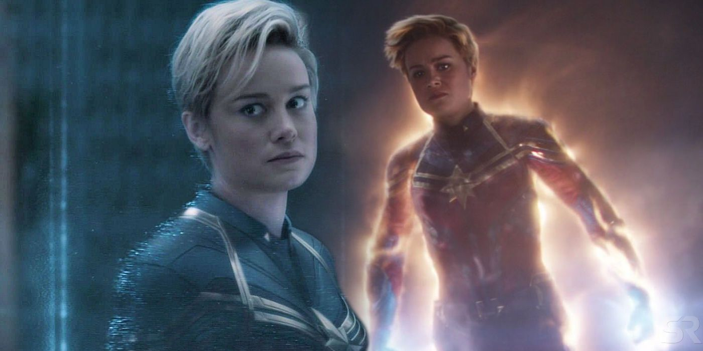 Where Captain Marvel S Short Hair In Avengers Endgame Comes From