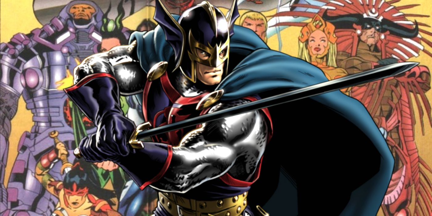 Marvel's Eternals Set Photos Back Up Black Knight Plot Rumors