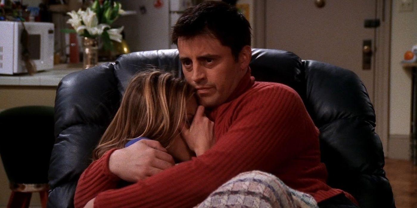 På det tidspunktet bodde Joey og Rachel i samme leilighet.