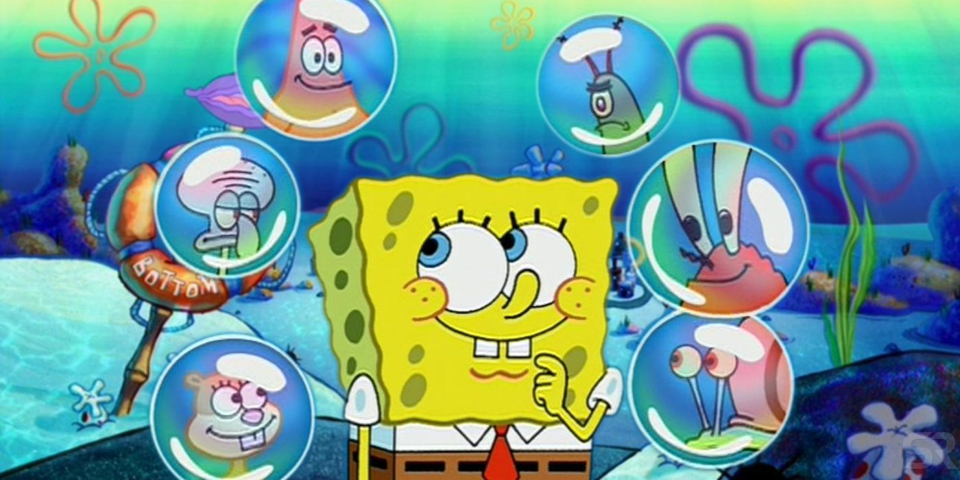 Spongebob Squarepants Theory The Characters Are The 7 Deadly Sins