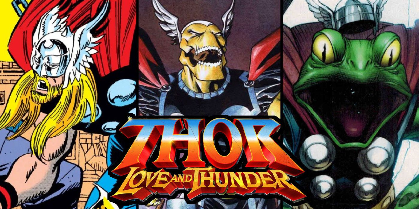 Thor Other Versions That Can Appear In Love Thunder