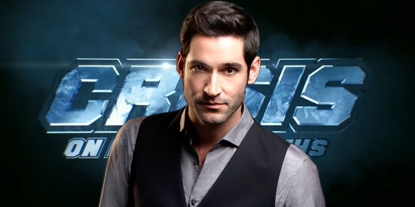 Lucifer Star Tom Ellis Says He's NOT in Crisis on Infinite Earths
