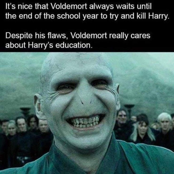 Harry Potter 10 Hilarious Voldemort Memes Only True Fans Will