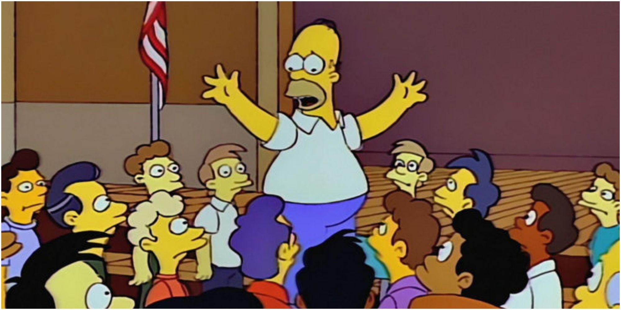 Os Simpsons: Os dez episódios mais engraçados de Homer classificados 10