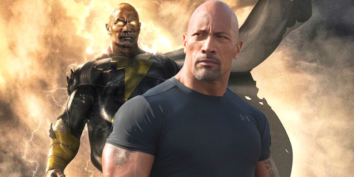 Image result for black adam the rock