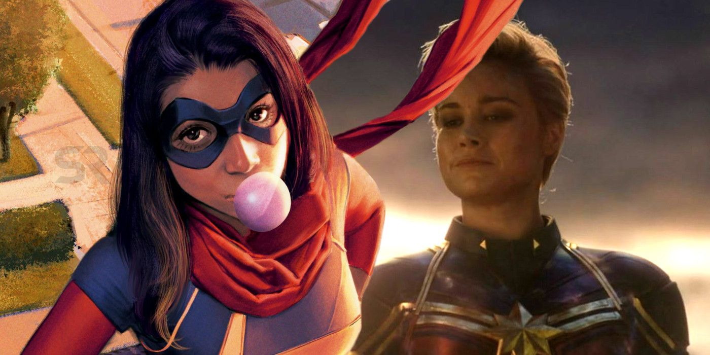 Captain Marvel S Alternate Mcu Costume Had Ms Marvel S Signature Scarf Do you like this video? captain marvel s alternate mcu costume