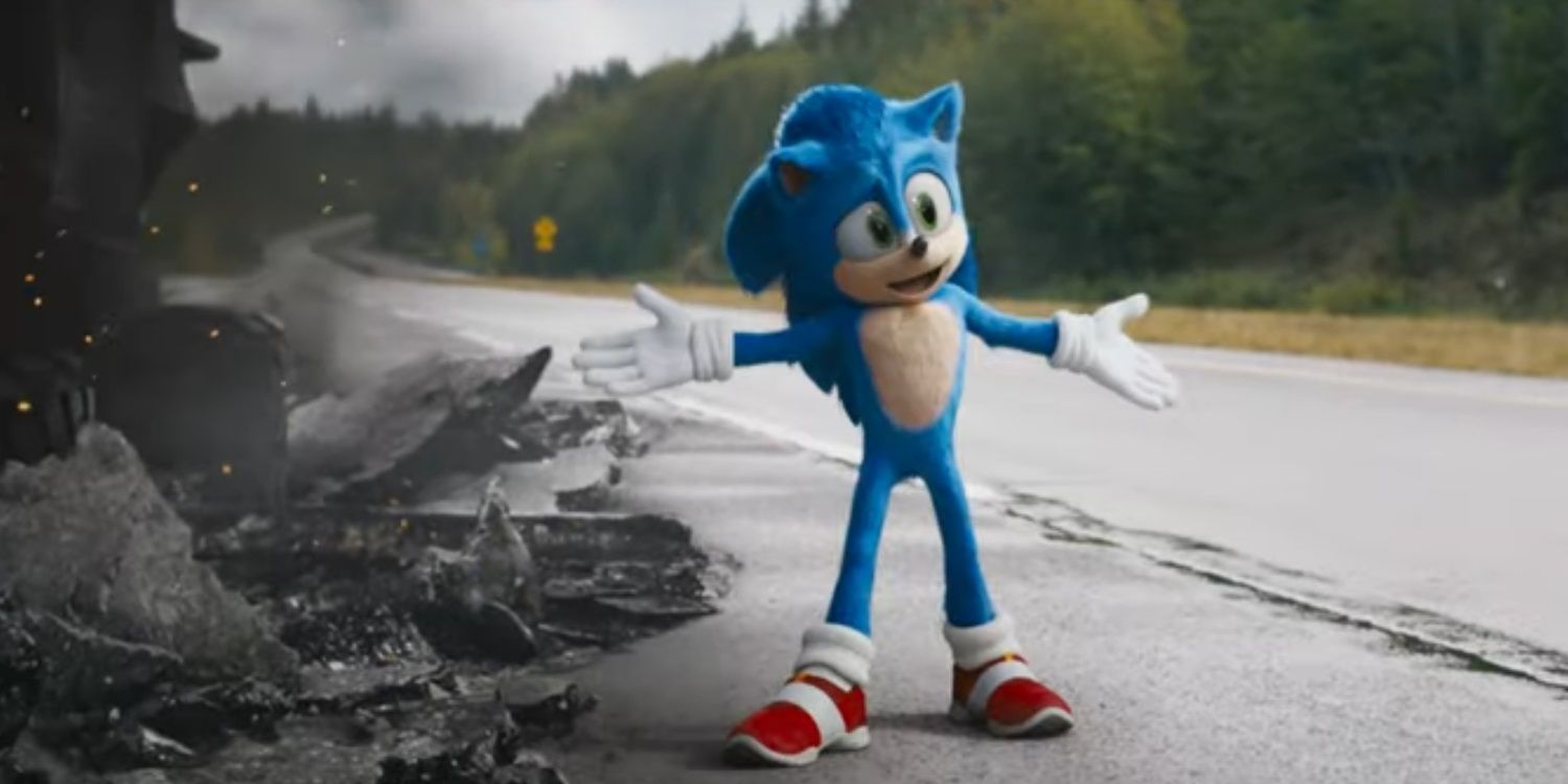 Sonic Movie Redesign Is The Original Design Vfx Artists Wanted