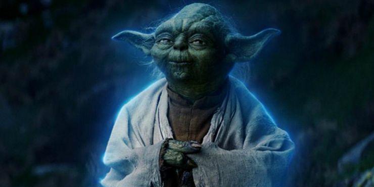 Fantôme de la Force de Yoda de Star Wars