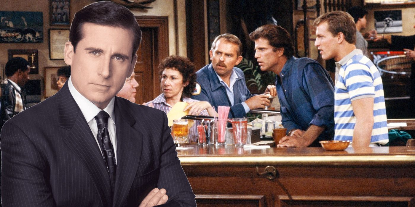 Steve Carell Pitches Cheers Reboot With The Office Cast.'