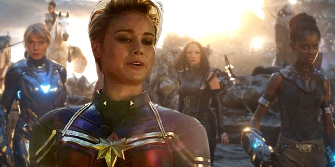 Endgame's Original A-Force Scene Was Totally Different - And A Lot Better