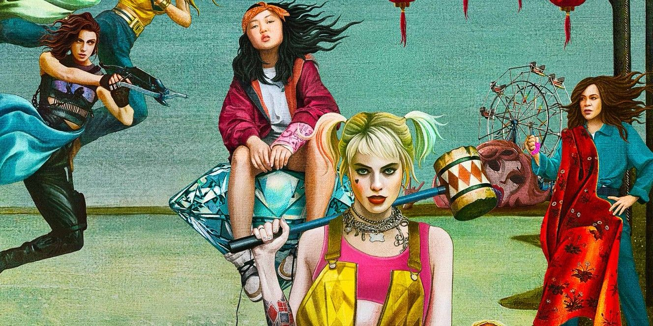 New Birds Of Prey Movie Poster Focuses On The Team Not Just Harley Quinn Jimmy Star S World