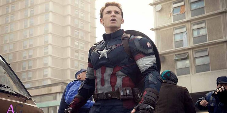 Steve Rogers/Captain America played by Chris Evans