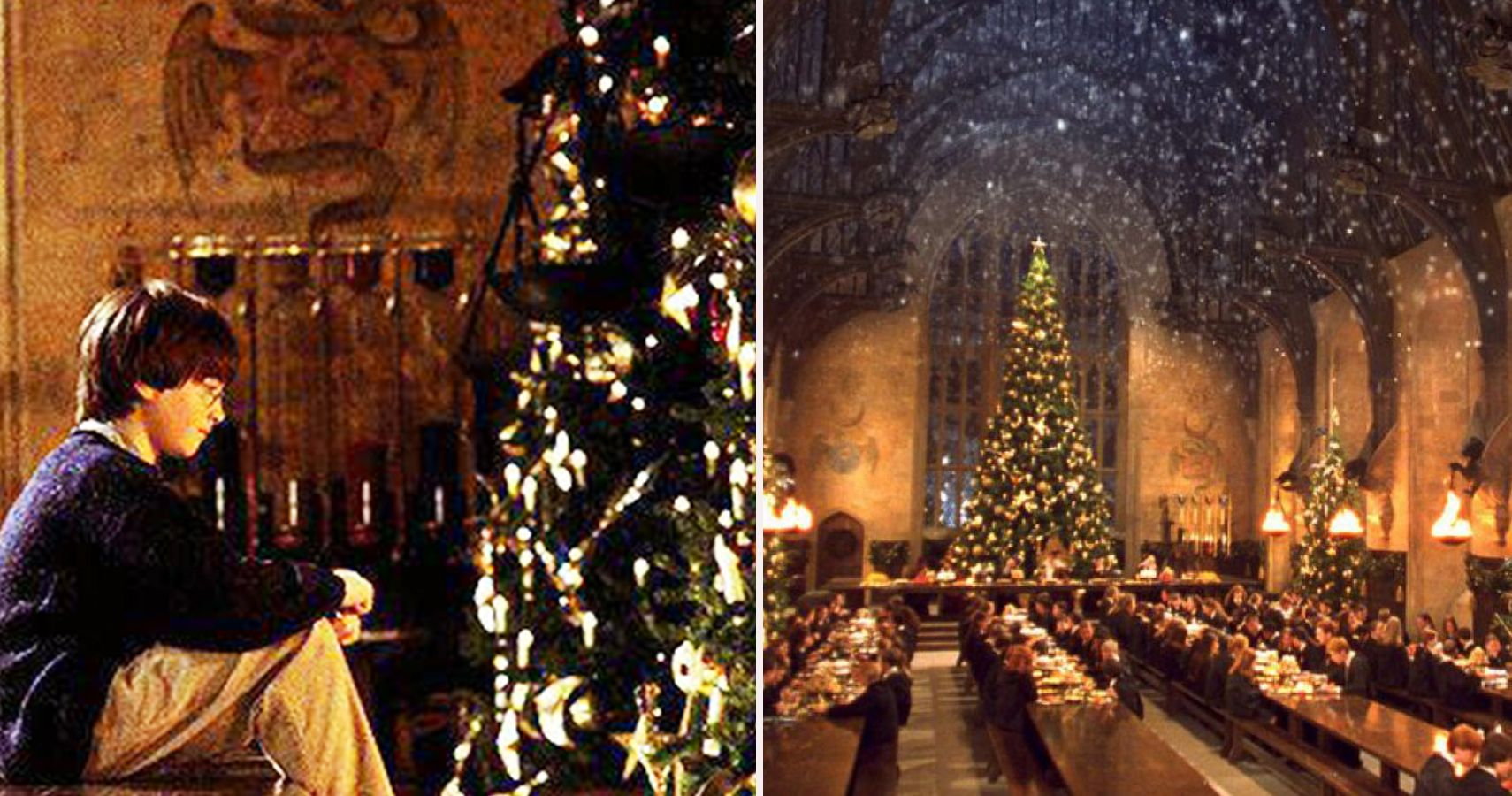 Hogwarts At Christmas 2021 Harry Potter 15 Scenes That Make Them The Perfect Christmas Movies