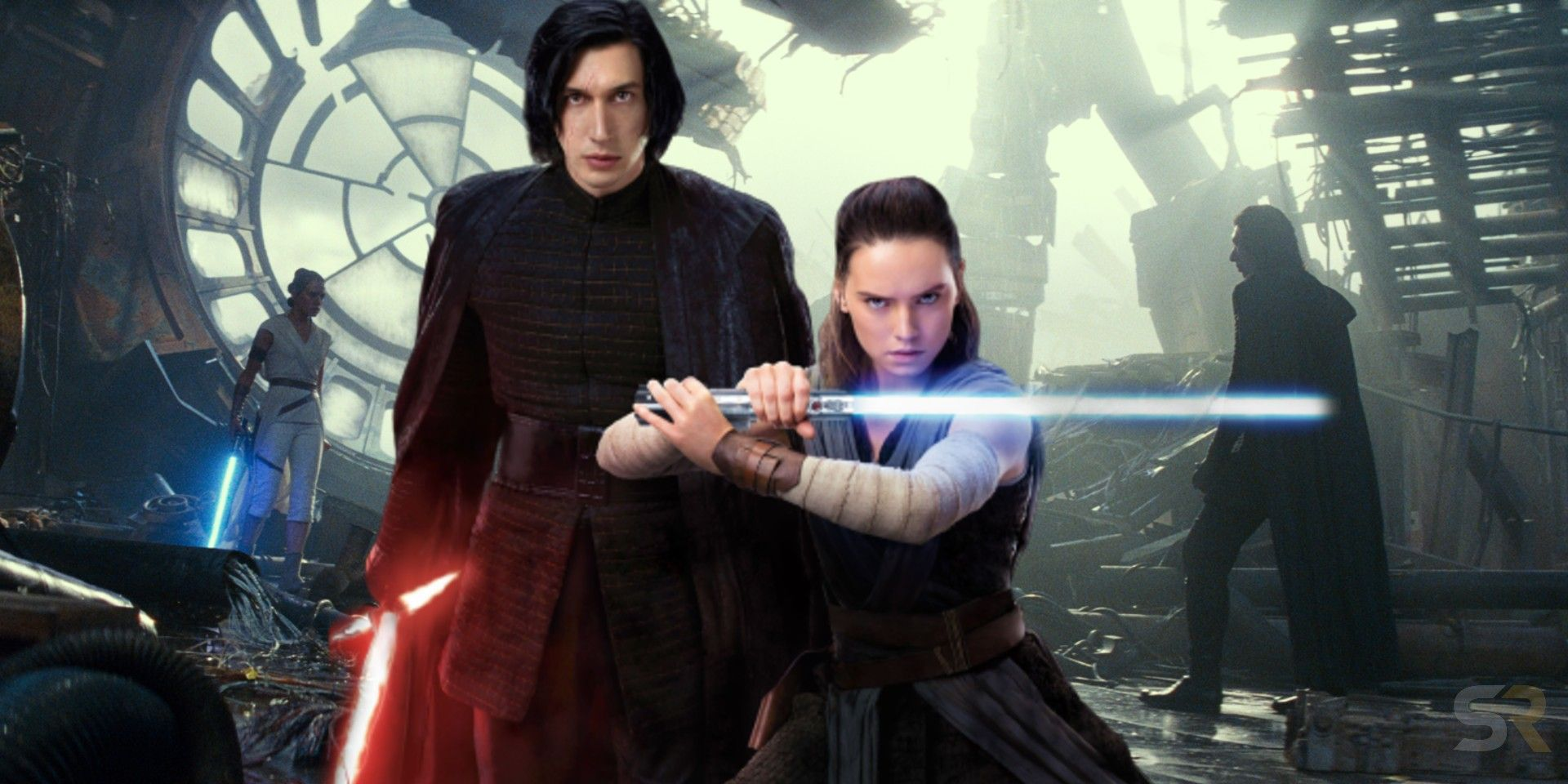 Rey & Kylo Ren's Connection Explained Properly After Rise of Skywalker