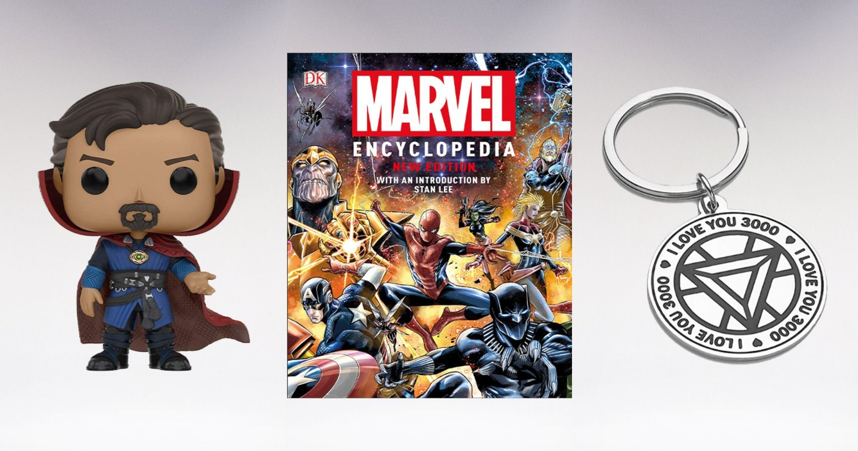 Deadpool X-men Marvel Spider-man Stan Lee Comic Hero Charm Stainless Steel Ring