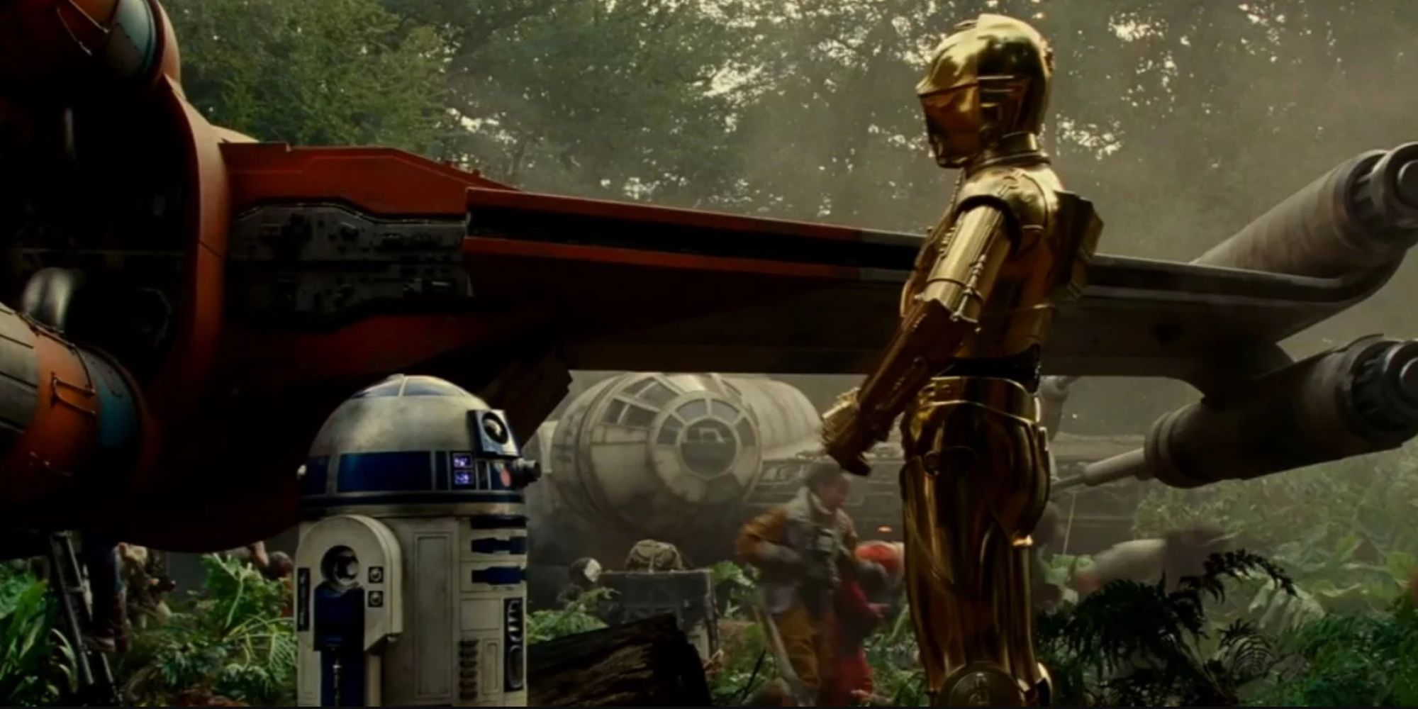 Image result for C3PO and R2D2 rise of best friend