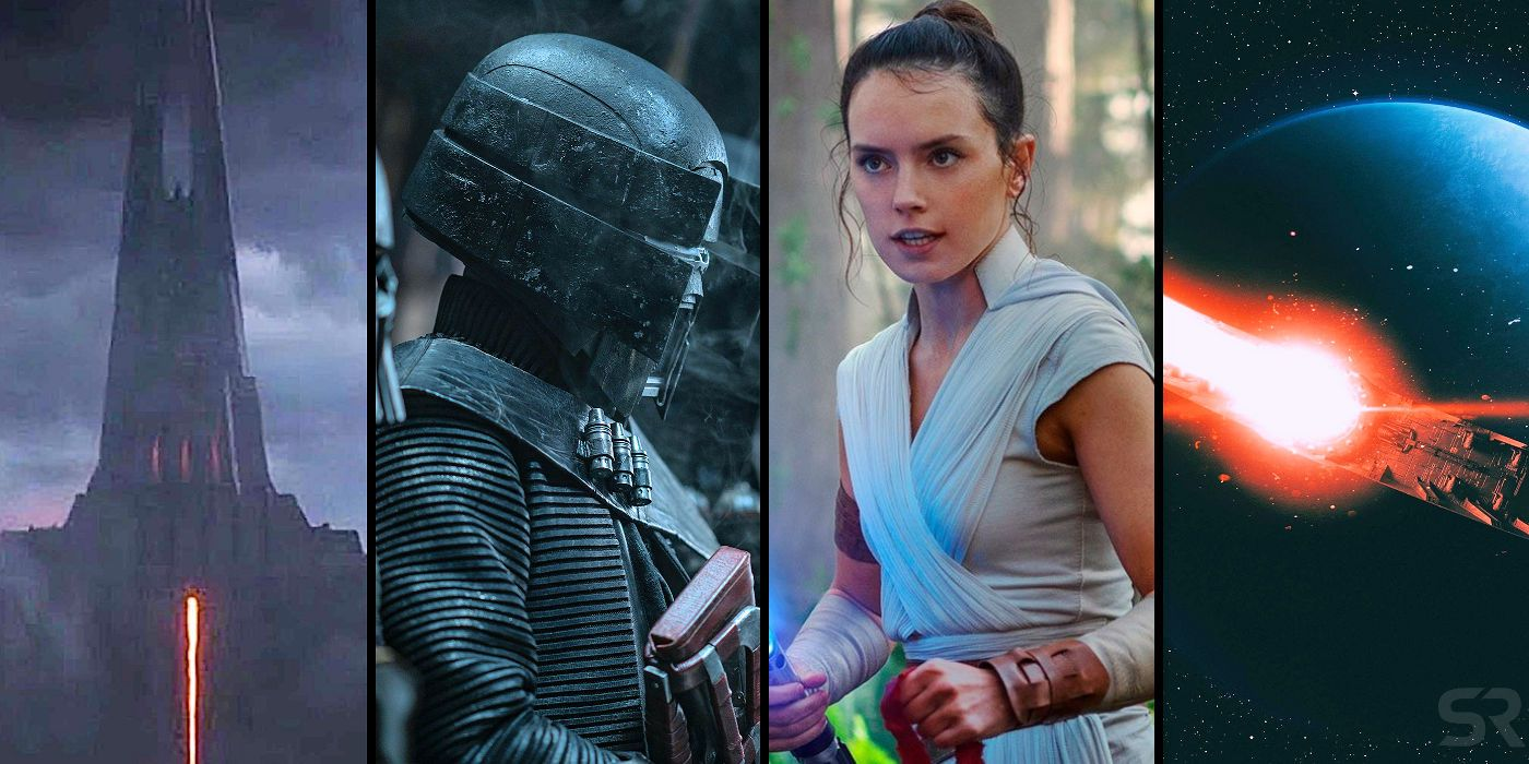 Star Wars Biggest Reveals From The Rise Of Skywalker Visual Dictionary