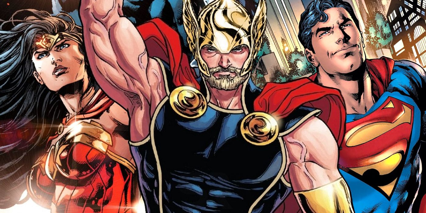THOR Confirms Superman & Wonder Woman Have Used Mjolnir