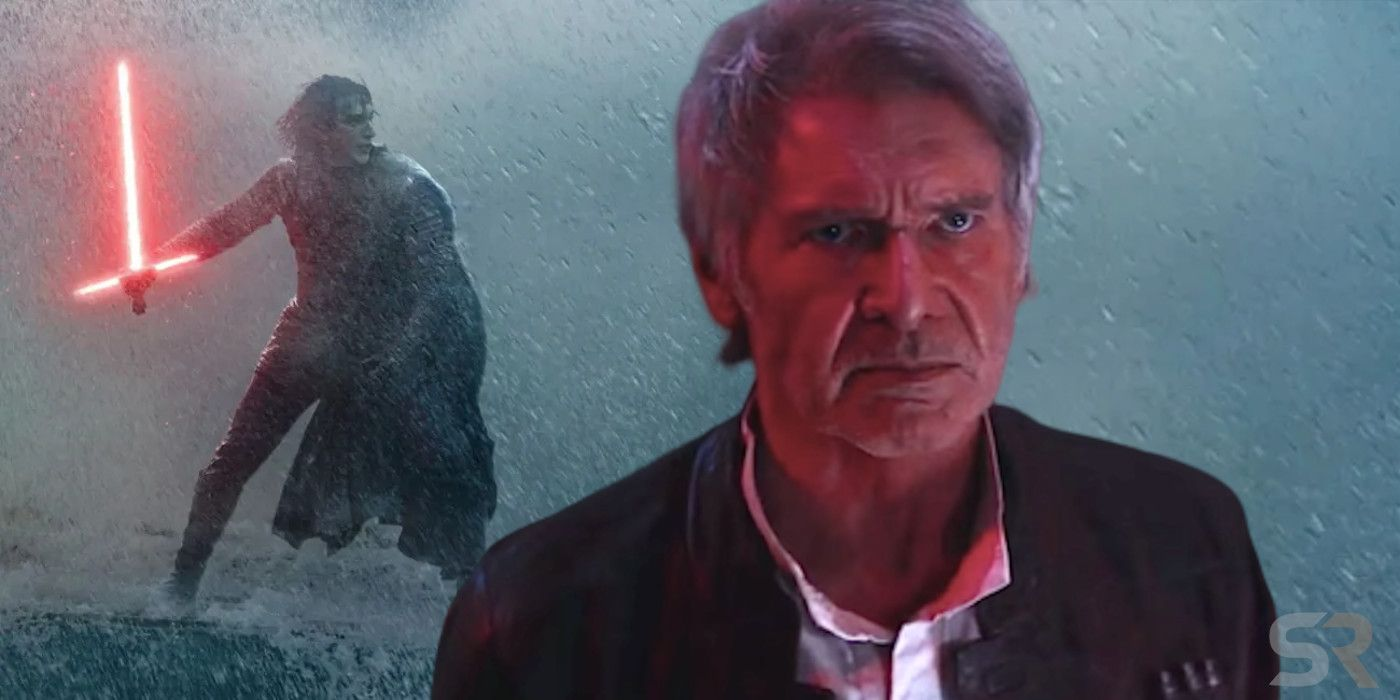 Rise Of Skywalker Was Han Solo A Force Ghost Or Just Ben S Memory Jimmy Star S World