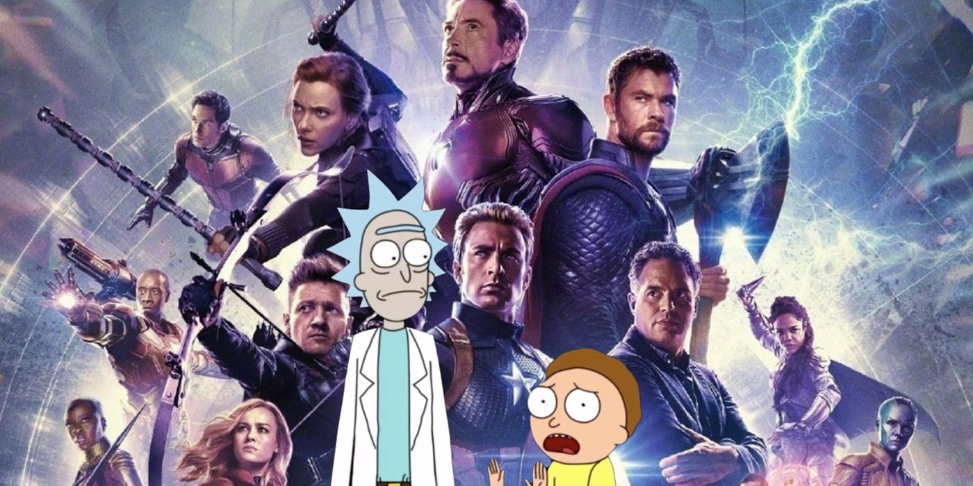 Fan-Art Imagines Rick & Morty In Avengers: Endgame Scenes