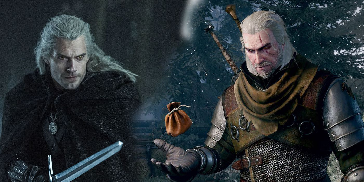 TV and Movie News How Henry Cavill's Geralt Compares To The Game ...