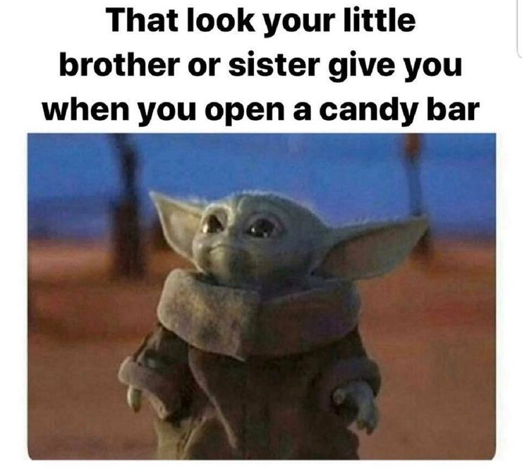 Baby Yoda Is Really Me - Page 3 - Free-For-All - UnevenEdge